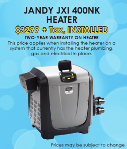 reliant pool service llc heater